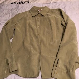 Talbots Lightweight Suede feel-Large